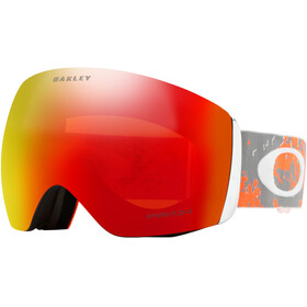 Oakley Flight Deck Snow Goggle Arctic Fracture Orange/Prizm Snow Torch Iridium